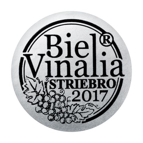 Biel Vinalia striebro 2017