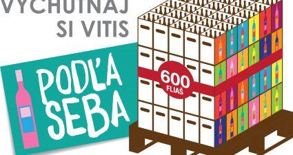 veľká letná súťaž s Vitis o 600 fliaš vína